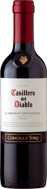 Casillero del Diablo Cabernet Sauvignon, Central Valley 37.5cl