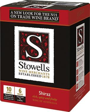 Stowells Shiraz, South Eastern Australia 10lt