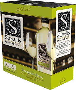 Stowells Sauvignon Blanc, Central Valley 3lt