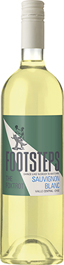 Footsteps Sauvignon Blanc, Central Valley 75cl