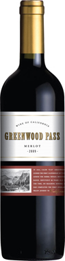 Greenwood Pass Merlot, California