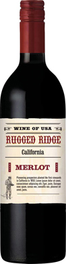 Rugged Ridge Merlot, California