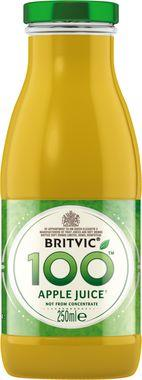 Britvic 100% Apple, NRB 250 ml x 24