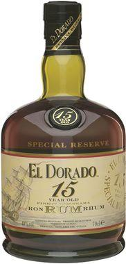 El Dorado Demerara 15-Year-Old Rum 70cl