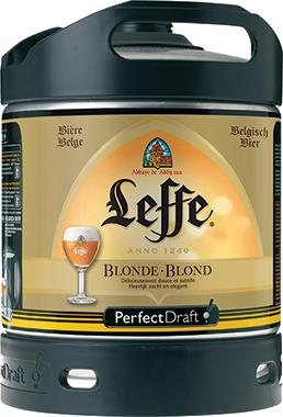 Leffe Blonde Perfect Draft, Keg 6 lt x 1