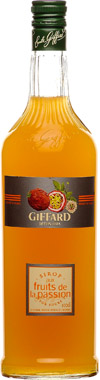 Giffard Passion Fruit Syrup 1lt