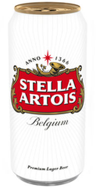 Stella Artois, can 440 ml x 24
