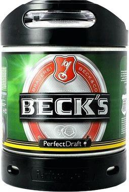 Becks Perfect Draft, Keg 6 lt x 1