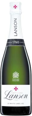 Lanson Brut White Label Sec NV 75cl