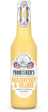 Frobishers Fusion Orange & Passionfruit, NRB 275 ml x 24