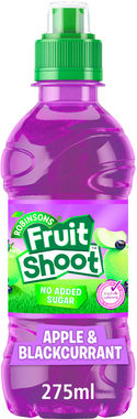 Fruit Shoot Apple & Blackcurrant Low Sugar, PET 275 ml x 24