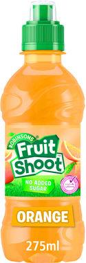 Fruit Shoot Orange Low Sugar, PET 275 ml x 24
