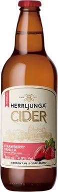 Herrljunga Strawberry & Vanilla Cider, NRB 500 ml x 12