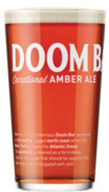 Sharps Doom Bar, cask 9 gal x 1