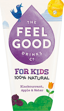 Feel Good Kids Blackcurrant, Apple & Grape 180 ml x 20