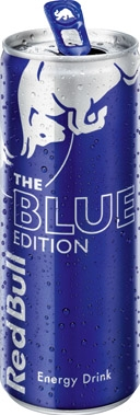 Red Bull Blue Edition, can 250 ml x 12