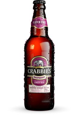 Crabbies Raspberry 500 ml x 12