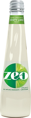 Zeo Zesty Lime, NRB 275 ml x 12