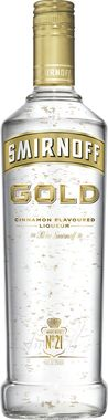 Smirnoff Gold Cinnamon Flavoured Liqueur 70cl