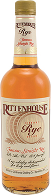 Rittenhouse Straight Rye Whiskey 70cl