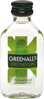 Greenalls London Dry Gin Miniatures 5cl