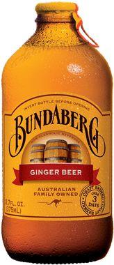 Bundaberg Ginger Beer, NRB 375 ml x 12