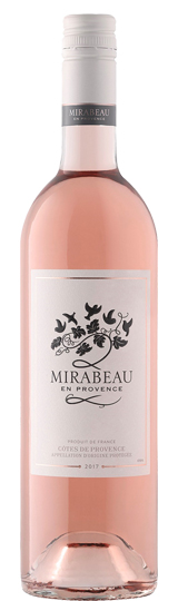 Côtes de Provence Rosé, Mirabeau Rosé