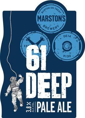 Marstons 61 Deep Pale Ale, cask 9 gal x 1
