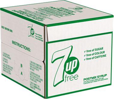 7 Up Free, post-mix 7 lt x 1
