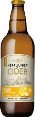 Herrljunga Ginger & Lemon Cider, NRB 500 ml x 12