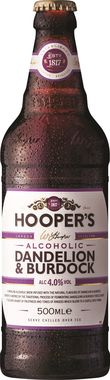 Hoopers Dandelion & Burdock 500 ml x 12