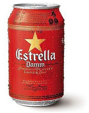 Estrella Damm, can