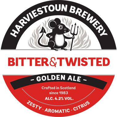 Harviestoun Bitter & Twisted, Keg 50 lt x 1