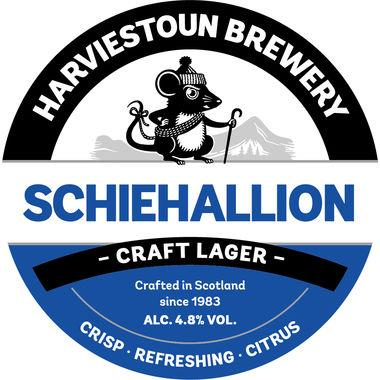 Harviestoun Schiehallion, Keg 50 lt x 1