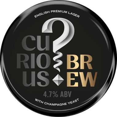 Curious Brew Lager, Keg