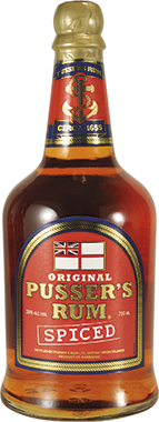 Pusser's Spiced Rum 70cl