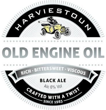 Harveistoun Old Engine Oil, Keg 30 lt x 1