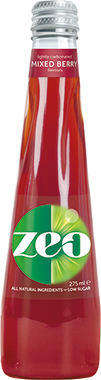 Zeo Mixed Berry, NRB 275 ml x 12