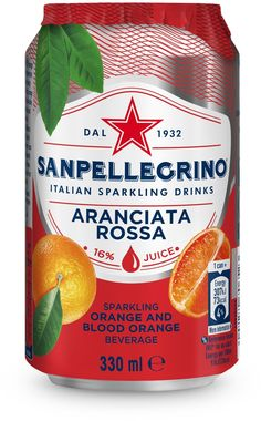 Sanpellegrino Rossa, Can 330 ml x 24
