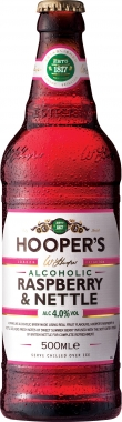 Hoopers Raspberry & Nettle 500 ml x 12