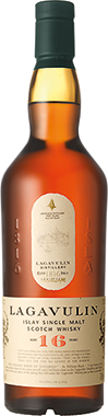 Lagavulin 16 Years Old Single Malt Scotch Whisky 70cl