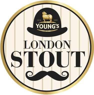 Young's London Stout 4.3% ABV, Keg 30 lt x 1