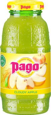 Pago Cloudy Apple Juice 200ml x 12