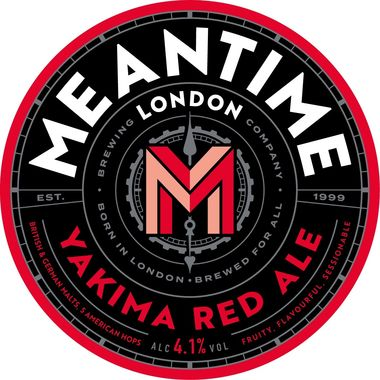 Meantime Yakima Red, Keg 30 lt x 1
