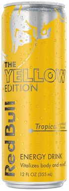 Red Bull Tropical Edition, Can
