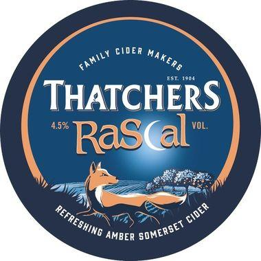 Thatchers Old Rascal Medium Dry Somerset Cider, Keg 50 lt x 1