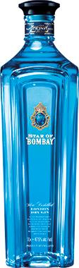 Star of Bombay London Dry Gin 70cl