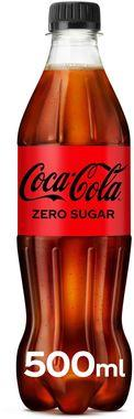 Coke Zero Sugar, PET 500 ml x 12
