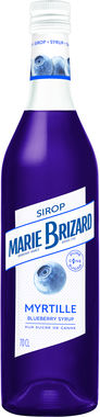 Marie Brizard Blueberry Syrup 70cl