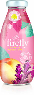 Firefly Revitalising Juice Drink, Peach & Green Tea 330 ml x 12